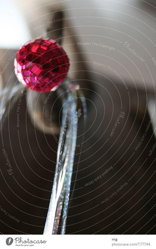 Lametta Freude Farbe glänzend elegant ästhetisch Kitsch Dekoration & Verzierung Lebensfreude Kugel Neugier Kunststoff Leichtigkeit Discokugel Krimskrams