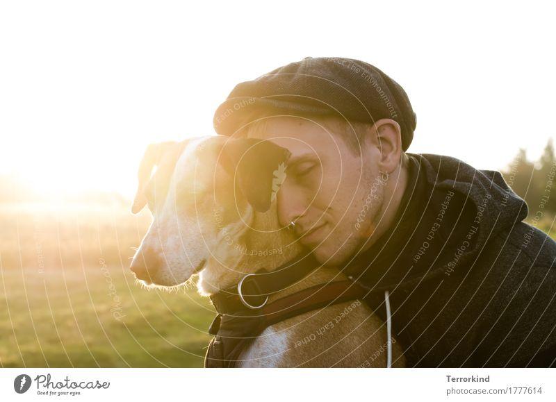 mean it. Mensch Familie & Verwandtschaft Freundschaft Erwachsene Nase 1 18-30 Jahre Jugendliche Umwelt Natur Landschaft Erde Himmel Sonne Sonnenlicht Herbst
