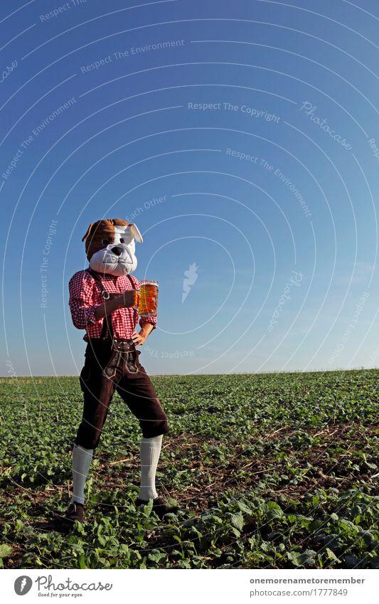 Oktoberfest - Bierständer Kunst Kunstwerk Gefühle ästhetisch Biergarten Bierglas Bierschaum Bierbauch Durst maskulin Stammtisch Hund Kostüm Freude spaßig