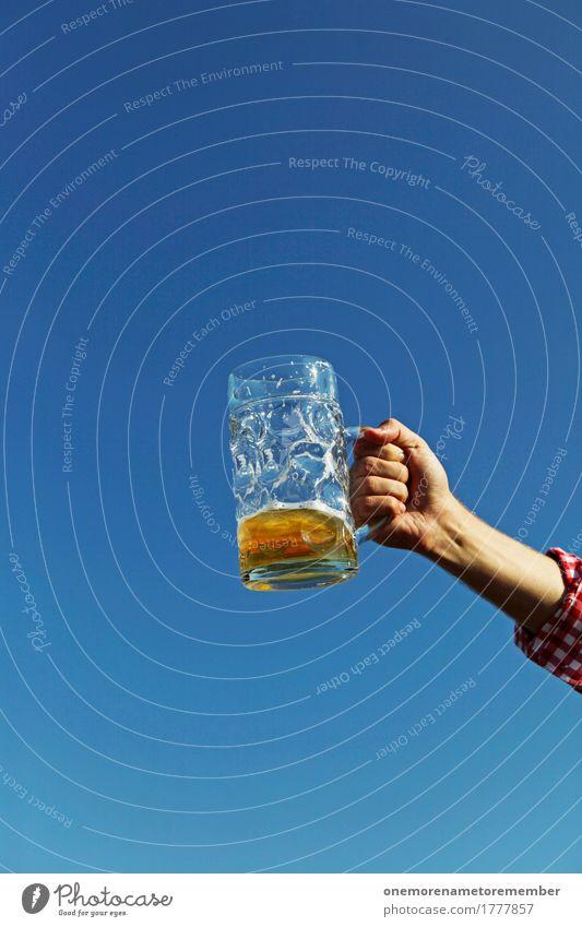Oktoberfest - Das richtige Maß Kunst Stimmung Bierkrug Biergarten Bierglas Bierschaum Feste & Feiern Dorffest Feuerwehreinsatz trinken Zuprosten Getränk