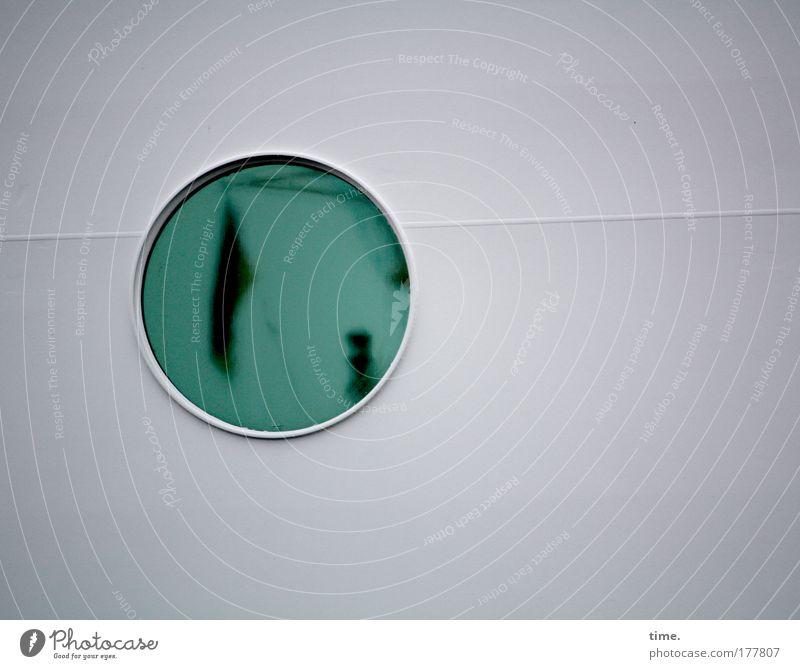 [KI09.1] - Bordprogramm grün Fenster Wasserfahrzeug rund Fahne Schifffahrt Bullauge Schweißnaht