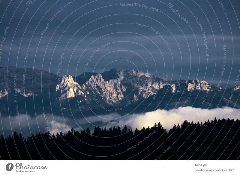 Dahoam isch dahoam Natur Ferien & Urlaub & Reisen Sommer Wolken Landschaft Wald Ferne Umwelt Berge u. Gebirge Freiheit Glück Felsen träumen Wind Freizeit & Hobby Nebel