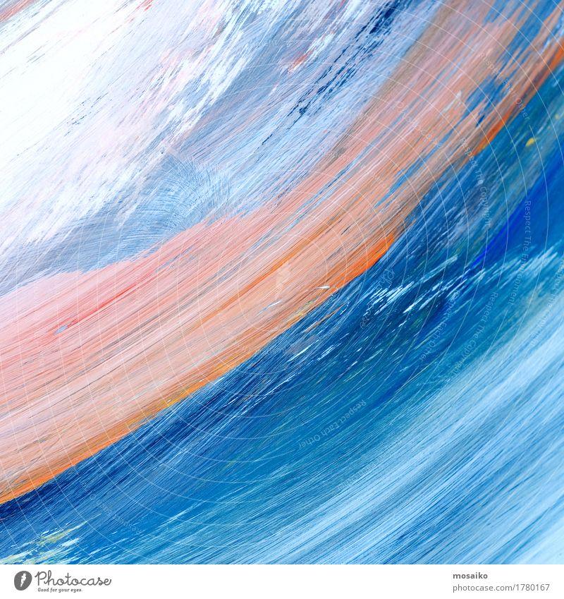 Wasserfarben Lifestyle elegant Stil Design Kindererziehung Bildung Kindergarten Schule Kunst Künstler Maler Kunstwerk Papier träumen gut Stimmung Freude