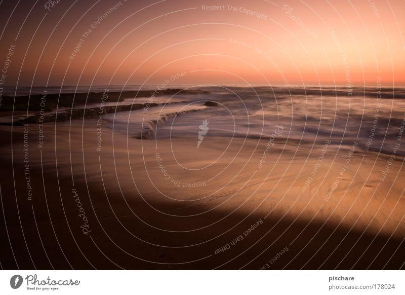 ocean in motion Wasser schön Sommer Meer Strand Bewegung Küste Horizont Wellen außergewöhnlich Romantik Kitsch Abenddämmerung exotisch Riff