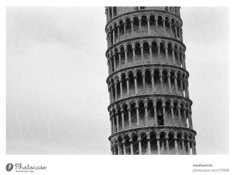 Schiefer Turm von Pisa Europa Italien Toskana PISA-Studie Campanile