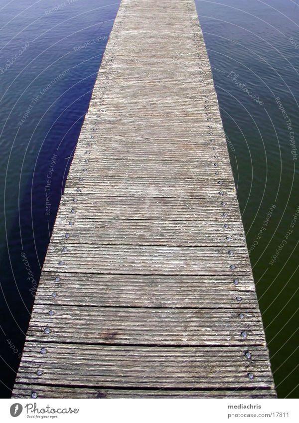 Steg Wasser Wege & Pfade Holzbrett Ameland