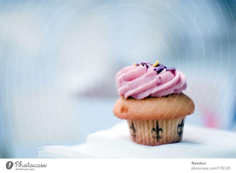 sweetie rosa süß Kitsch Süßwaren genießen Fett Festessen Mahlzeit Brunch Büffet Sünde Lebensmittel Kalorie Kaffeetrinken Dickmacher Kalorienreich