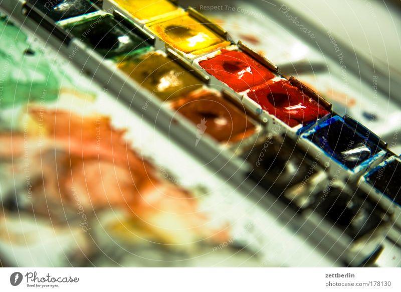 Tusch! Aquarell aquarellfarben Farbe Farbstoff aquarellkasten tuschkasten aquarellieren streichen zeichnen malen tuschenmaler Grafik u. Illustration