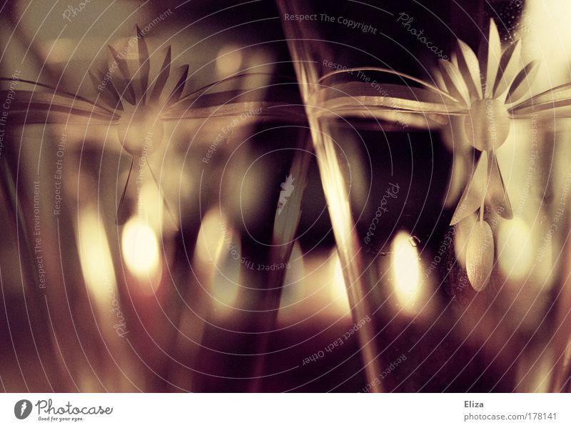 Advent, Advent ... Gedeckte Farben Innenaufnahme Menschenleer Unschärfe Lifestyle harmonisch Erholung Dekoration & Verzierung Stimmung Kerze Kerzenschein