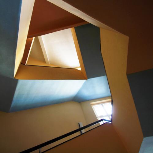 Klangfarben | Schachteljazz Stadt Haus Ferne Architektur Leben außergewöhnlich Zeit elegant modern ästhetisch Kommunizieren Kreativität Perspektive Lebensfreude