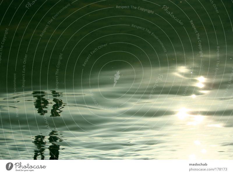 Di 01.09.2009 34°C Berlin Müggelsee Wasser Sonne Meer Sommer Freude Ferien & Urlaub & Reisen Einsamkeit Ferne träumen Traurigkeit See Wellen Umwelt Tourismus
