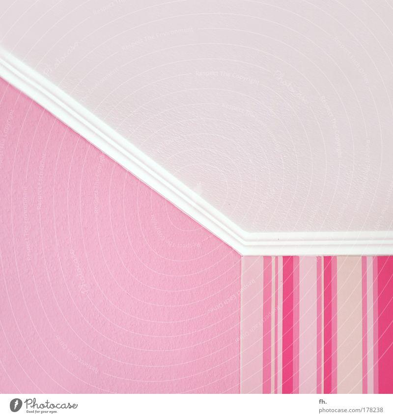 Zahnbürste weiß Leben Wand Mauer Stil Innenarchitektur Raum rosa elegant wild Design verrückt Dekoration & Verzierung leuchten retro Kitsch