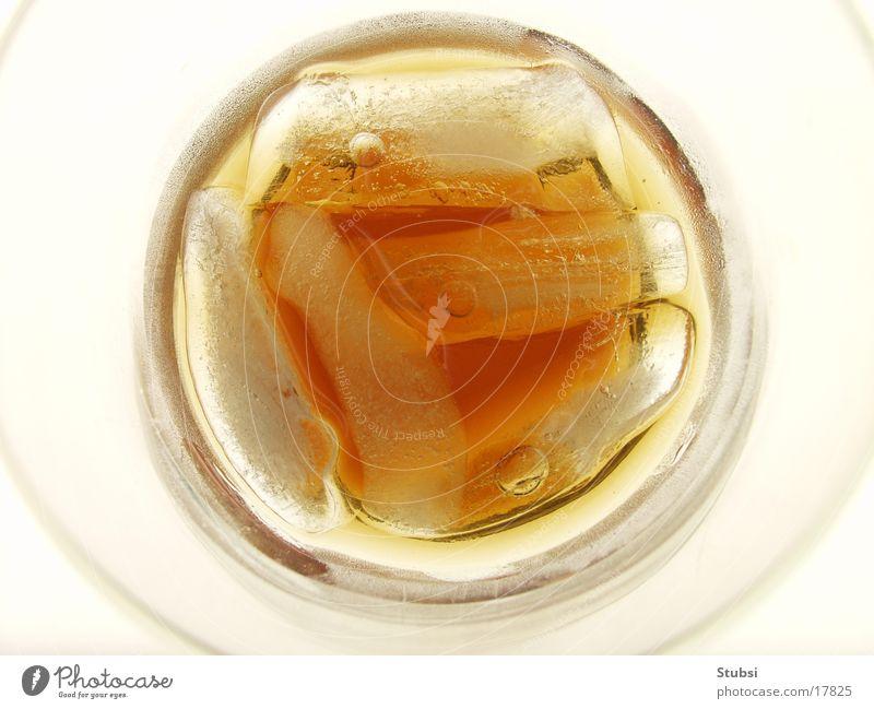 Eiswürfel2 Cola Makroaufnahme Alkohol Vogelperspektive