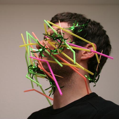 partypicker Freude Veranstaltung Bar Cocktailbar ausgehen Karneval maskulin Mann Erwachsene Kopf Haare & Frisuren Gesicht Bart 30-45 Jahre Show Dreitagebart