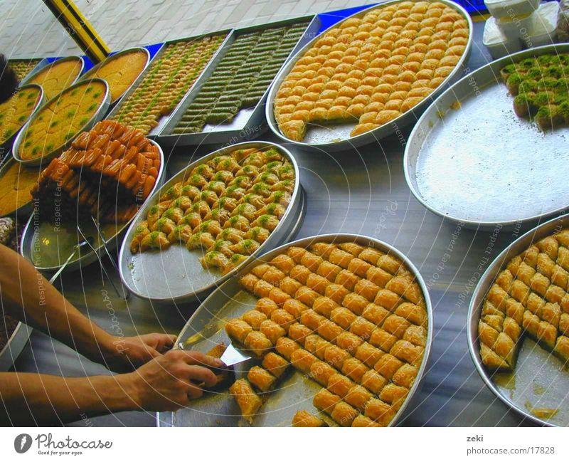 Baklava Ernährung gelb Gesundheit süß Speise Türkei