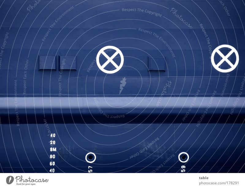 (KI09.01) Bugstrahlruder Farbfoto Totale Design Ferien & Urlaub & Reisen Ausflug Kreuzfahrt Meer Schifffahrt Passagierschiff Kreuzfahrtschiff Containerschiff