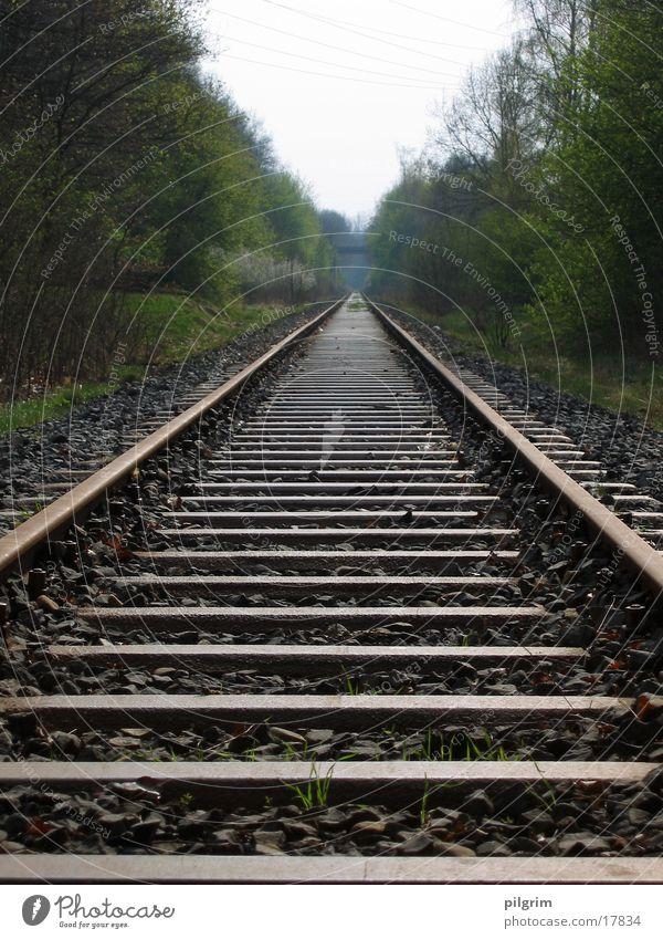 Schienen Gleise Geschwindigkeit Verkehr Eisenbahn Verkehrswege