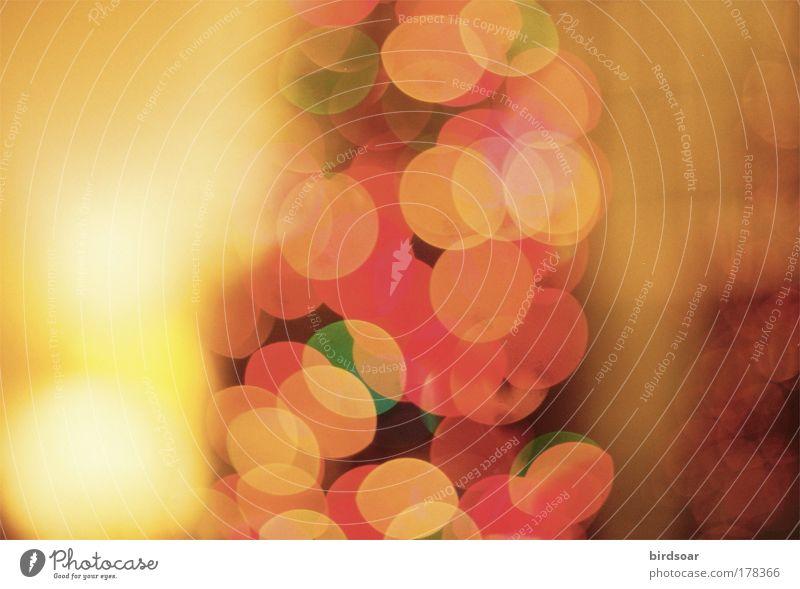 Ist es das? 35mm Filmmaterial analog Weihnachten & Advent Lampe Ferien & Urlaub & Reisen Winter Unschärfe unkonzentriert