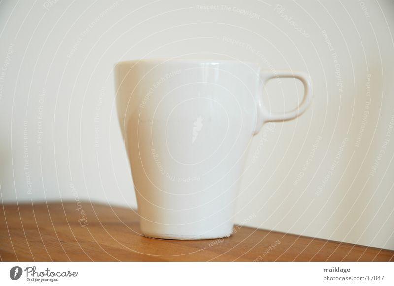 tasse/tisch/wand weiß Holz Wärme hell Tisch Kaffee Küche Physik Tee Tasse Holztisch