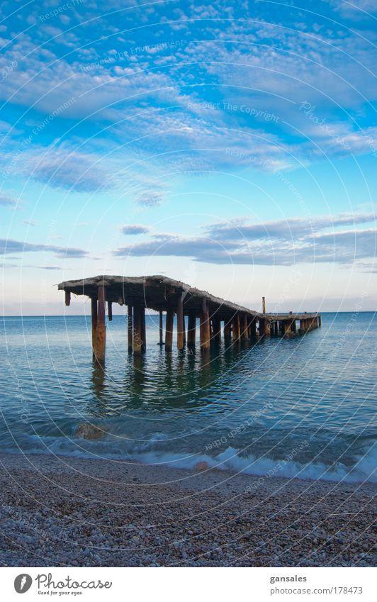 Natur Wasser schön Himmel blau Sommer Strand Wolken Glück Wärme Landschaft Wellen Küste groß Fröhlichkeit Nachthimmel