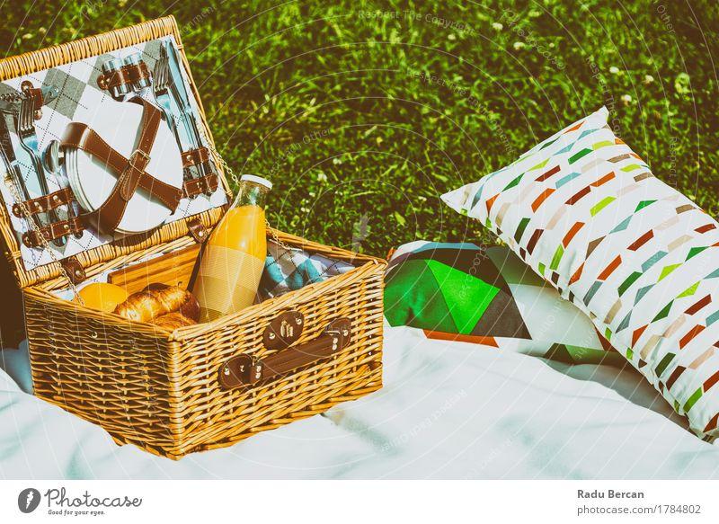 Natur Ferien & Urlaub & Reisen Sommer grün Gesunde Ernährung weiß Erholung Essen Gras Lebensmittel Frucht Park Freizeit & Hobby Orange Frühstück