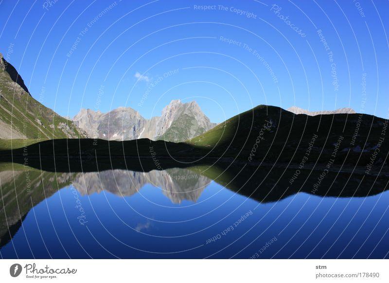 ...ohne Worte... [ E5 ] Himmel Natur Ferien & Urlaub & Reisen Sonne Sommer Wolken Ferne Erholung Umwelt Landschaft Berge u. Gebirge Freiheit See Zufriedenheit