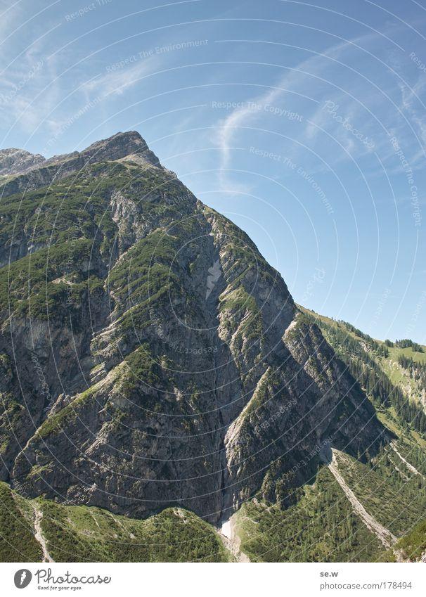 Khazad-dûm, Moria Natur Himmel Sommer Ferien & Urlaub & Reisen Einsamkeit Landschaft groß ästhetisch Freizeit & Hobby Alpen Unendlichkeit Sehnsucht Gipfel
