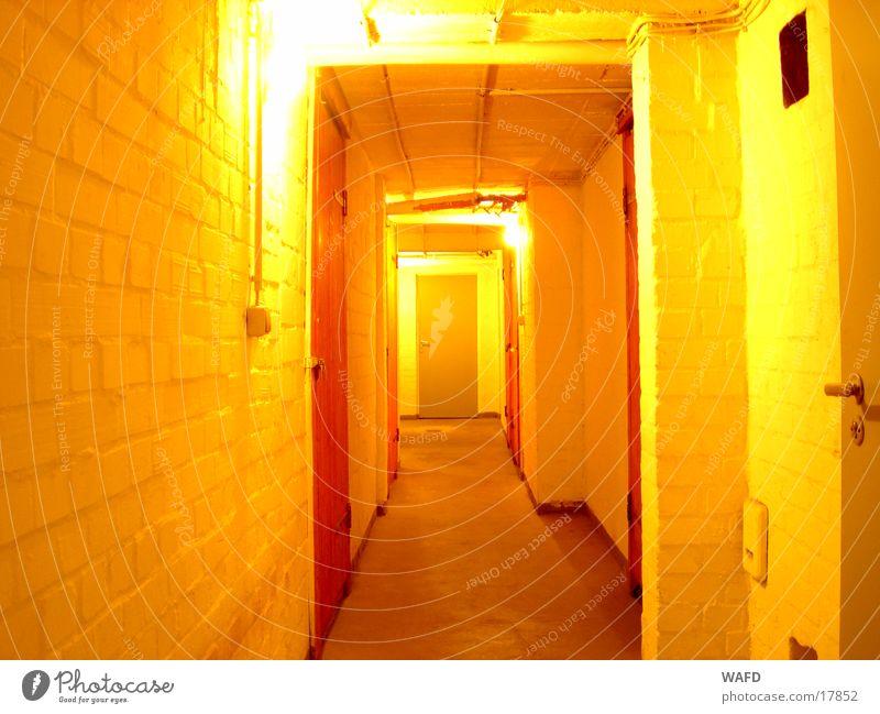 EckenEntDecken Keller Untergrund Licht Lichtschalter Wand Architektur Tür Raum Kellertür