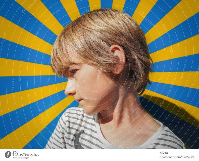 Starschnitt Ferien & Urlaub & Reisen Ausflug Abenteuer Kindergarten Zeitmaschine Mensch maskulin Kopf Haare & Frisuren 1 3-8 Jahre Kindheit Kunst Künstler
