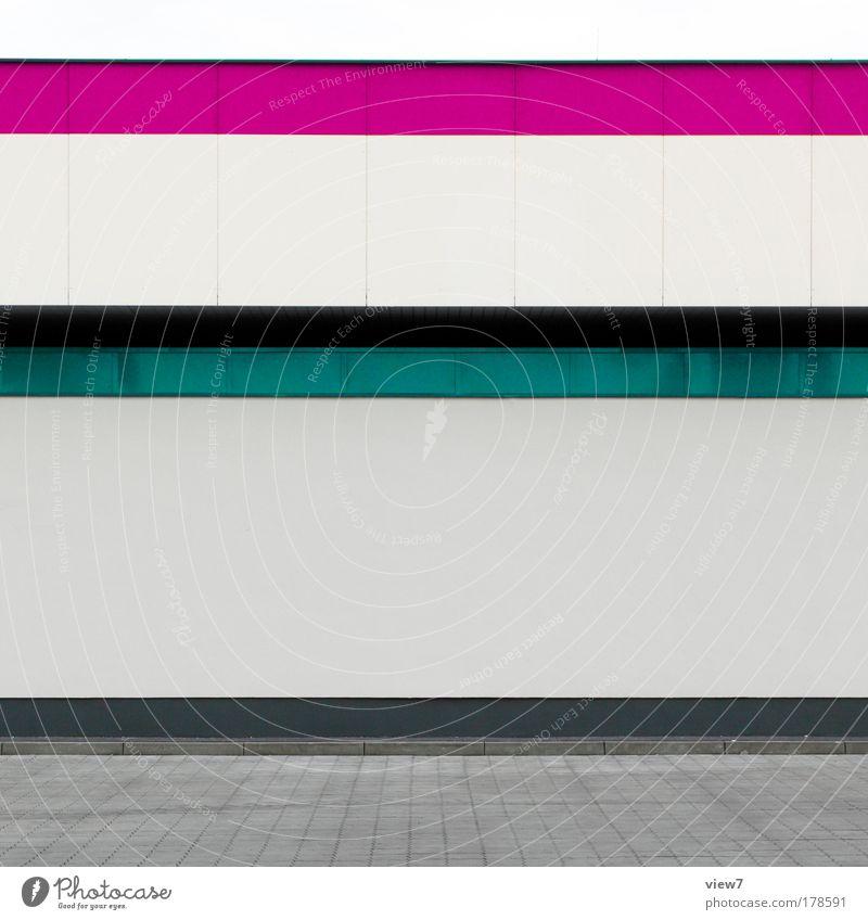 Konsum Farbfoto mehrfarbig Außenaufnahme Detailaufnahme Menschenleer Textfreiraum Mitte Licht Starke Tiefenschärfe Haus Industrieanlage Mauer Wand Fassade