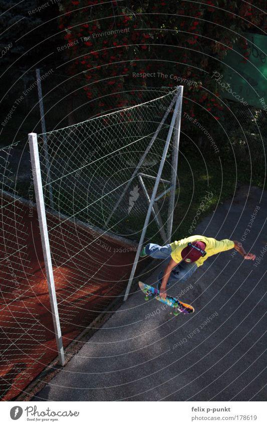 bone it! Mensch Jugendliche Freude Erwachsene gelb Sport springen Stil Kindheit Freizeit & Hobby maskulin ästhetisch verrückt außergewöhnlich Lifestyle