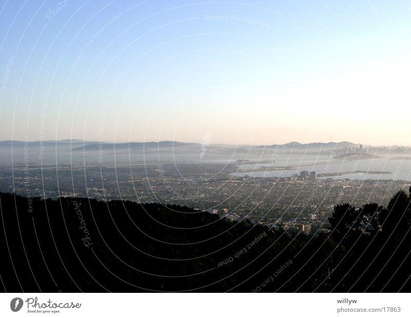 San Fransisco Ferien & Urlaub & Reisen Sonnenaufgang Küste Stadt Amerika Sanfransisco Bay