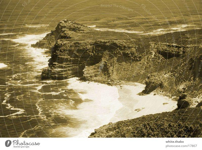 Das Kap Meer Afrika Nostalgie