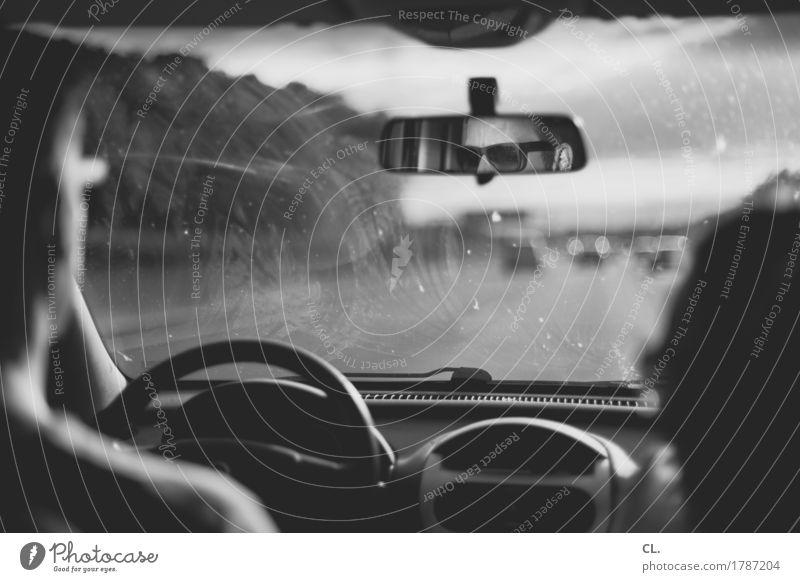 autobahn Ferien & Urlaub & Reisen Ausflug Mensch maskulin Verkehr Verkehrsmittel Verkehrswege Straßenverkehr Autofahren Wege & Pfade Autobahn PKW Sonnenbrille