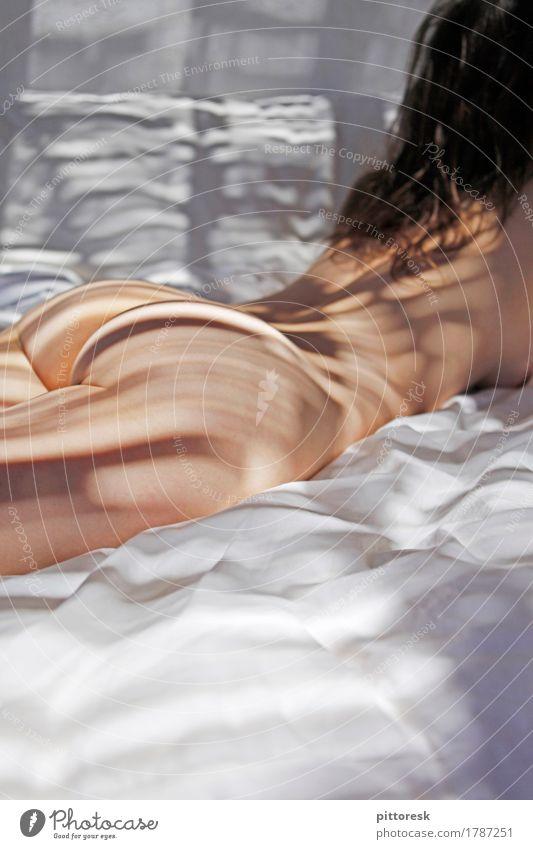 Sommer Körper Haut Erholung Freizeit & Hobby Lust nackt rein Tabubruch Akt Weiblicher Akt Nackte Haut Gesäß Frau Frauenbrust Frauenrücken Frauenkörper feminin