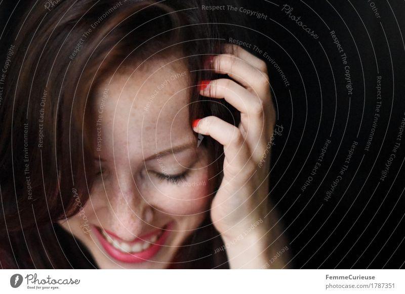 Whoop Whoop 900 pictures! :-) Mensch Frau Jugendliche schön Junge Frau Hand Freude 18-30 Jahre Gesicht Erwachsene Leben Gefühle feminin lachen Glück
