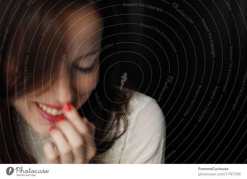 Glück_1787356 feminin Junge Frau Jugendliche Erwachsene Mensch 18-30 Jahre Gefühle Lebensfreude Frühlingsgefühle Begeisterung Leichtigkeit Optimismus Freude