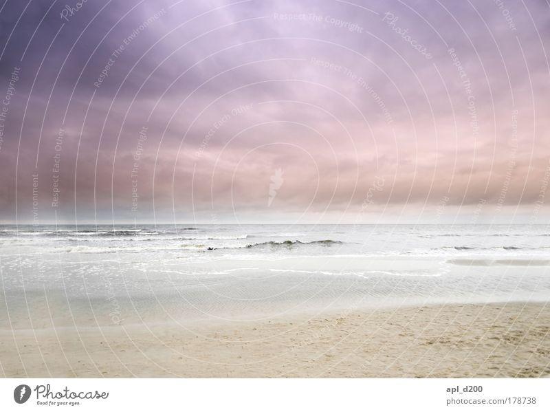 Usedom Natur Wasser Himmel Meer blau Sommer Strand Ferien & Urlaub & Reisen Wolken gelb Erholung Wellen Wetter Umwelt ästhetisch Insel