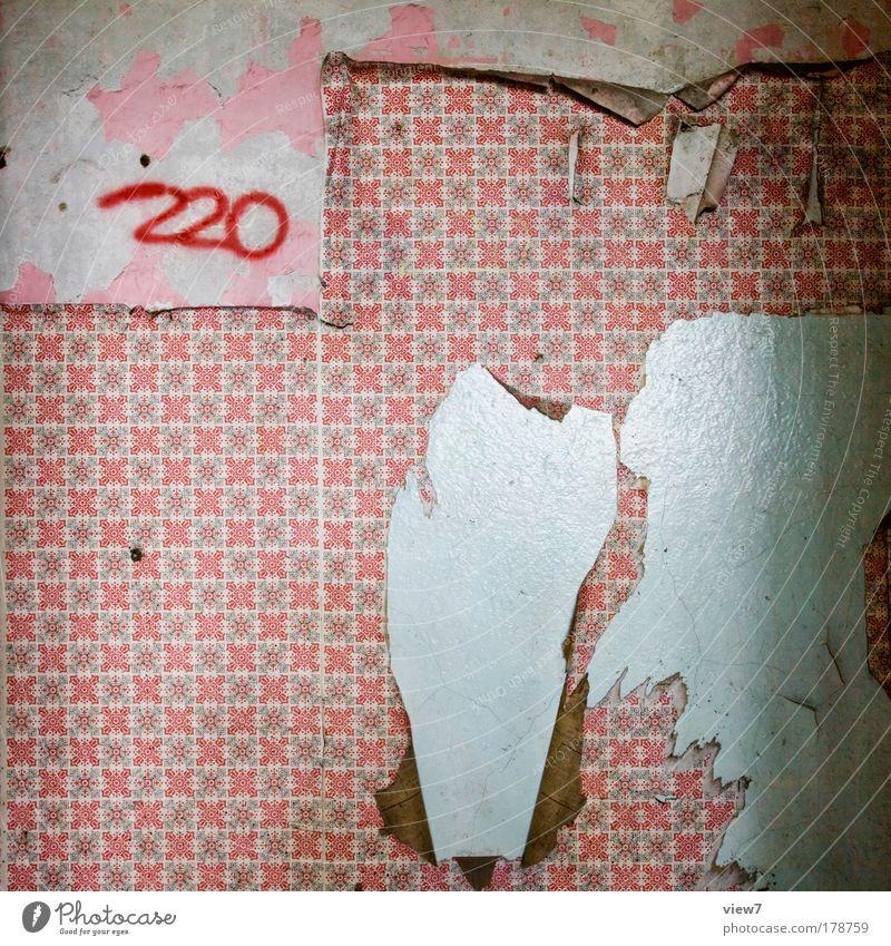 220 Volt alt rot Stein Raum dreckig Wohnung Zeit verrückt retro kaputt authentisch Dekoration & Verzierung gut Häusliches Leben Vergänglichkeit