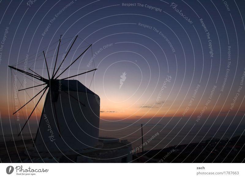 Morgens bei Müllers Natur Wolkenloser Himmel Sonnenaufgang Sonnenuntergang Schönes Wetter Küste Meer Mittelmeer Ägäis Insel Kykladen Siphnos Sifnos Griechenland