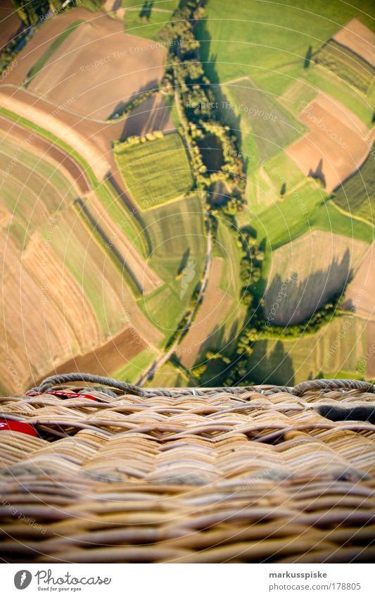 ballooning Menschenleer Freude Glück Ballone Ballonfahrt Ballonkorb Ferien & Urlaub & Reisen Tourismus Ausflug Abenteuer Ferne Freiheit Expedition Sommer Sonne