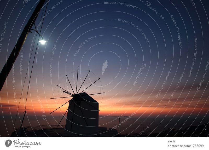 Morgens bei Müllers Ferien & Urlaub & Reisen Sommerurlaub Insel Wasser Himmel Wolken Nachthimmel Sonnenaufgang Sonnenuntergang Sonnenlicht Schönes Wetter Küste
