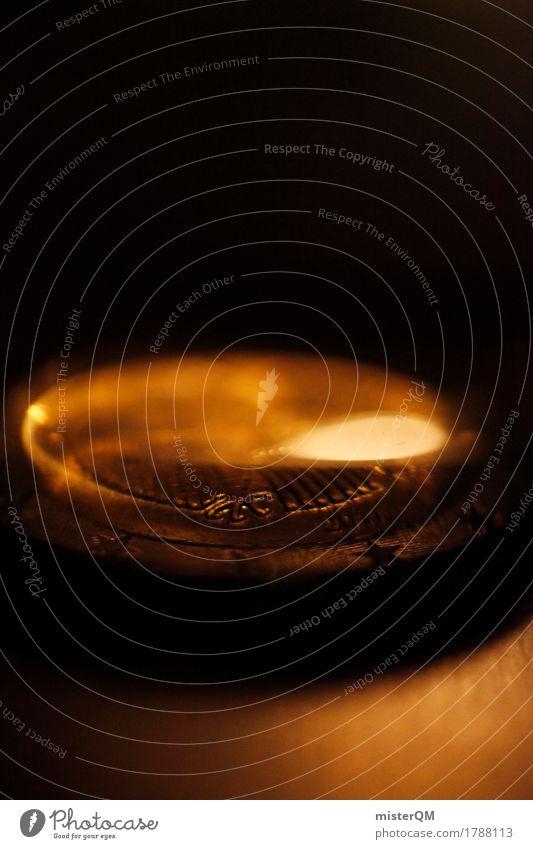 Alles Gold was glänzt II Zeichen Handel Geld Geldinstitut Geldmünzen Geldnot Geldkapital Geldgeber Geldverkehr Euro Europa Eurozeichen Kapitalwirtschaft