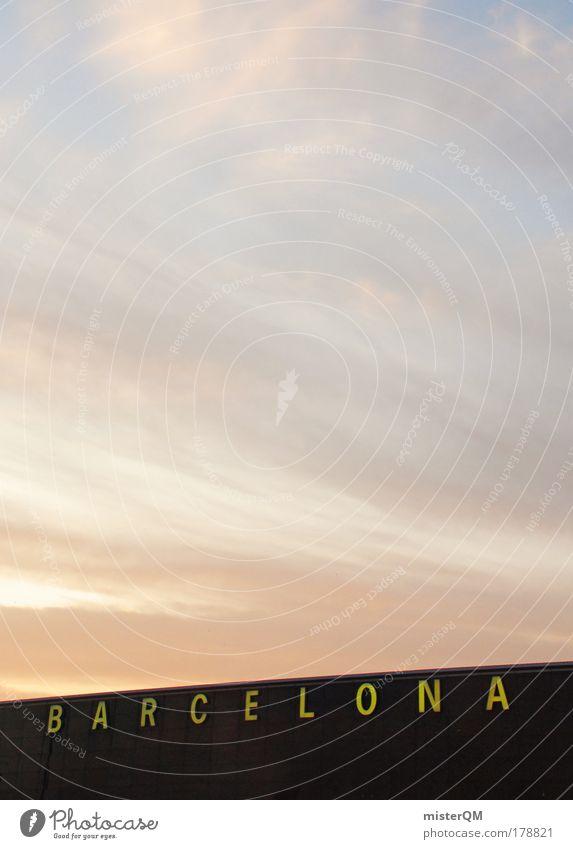 Barcelona. Farbfoto Gedeckte Farben Außenaufnahme Detailaufnahme Muster Menschenleer Textfreiraum links Textfreiraum rechts Textfreiraum oben Textfreiraum Mitte