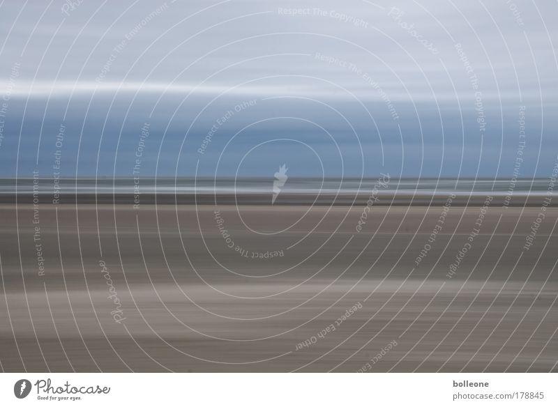 Wisch & Wech I Himmel Sonne Meer blau Sommer Strand Ferien & Urlaub & Reisen Wolken Farbe Sand Landschaft hell Wellen Küste Wetter Insel