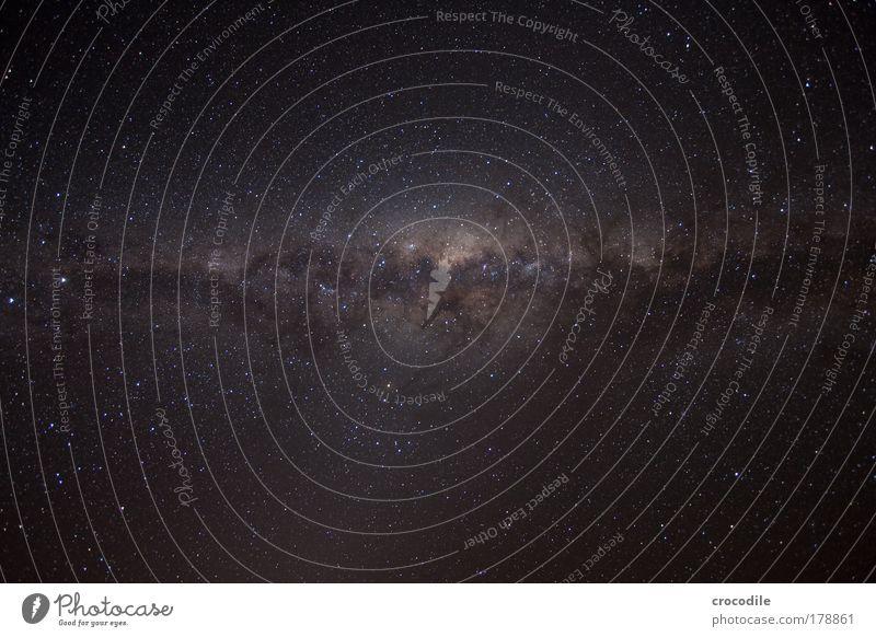 The Milkyway Außenaufnahme Menschenleer Nacht Sonnenlicht Langzeitbelichtung Low Key Starke Tiefenschärfe Weitwinkel Umwelt Natur Himmel nur Himmel Nachthimmel
