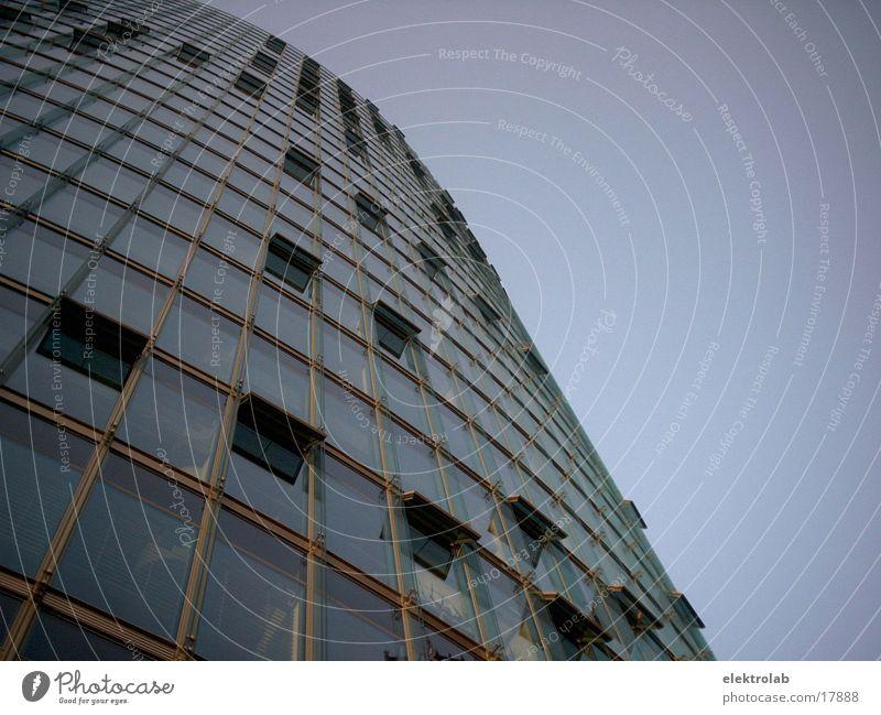 DB Zentrale Berlin Fenster Architektur Glas Hochhaus Eisenbahn modern Potsdamer Platz