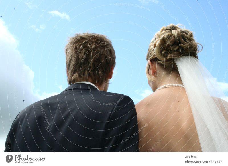 .:: entscheidung ::. Sommer Veranstaltung Feste & Feiern Hochzeit Mensch maskulin feminin Frau Erwachsene Mann Familie & Verwandtschaft Paar Partner Haut Kopf