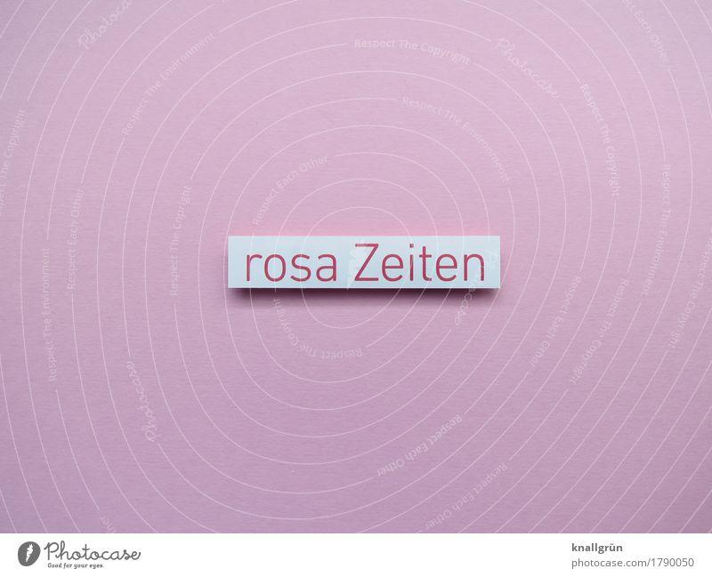 rosa Zeiten weiß Freude Gefühle Glück Stimmung Zufriedenheit Schriftzeichen Schilder & Markierungen Kommunizieren Fröhlichkeit Lebensfreude Romantik eckig