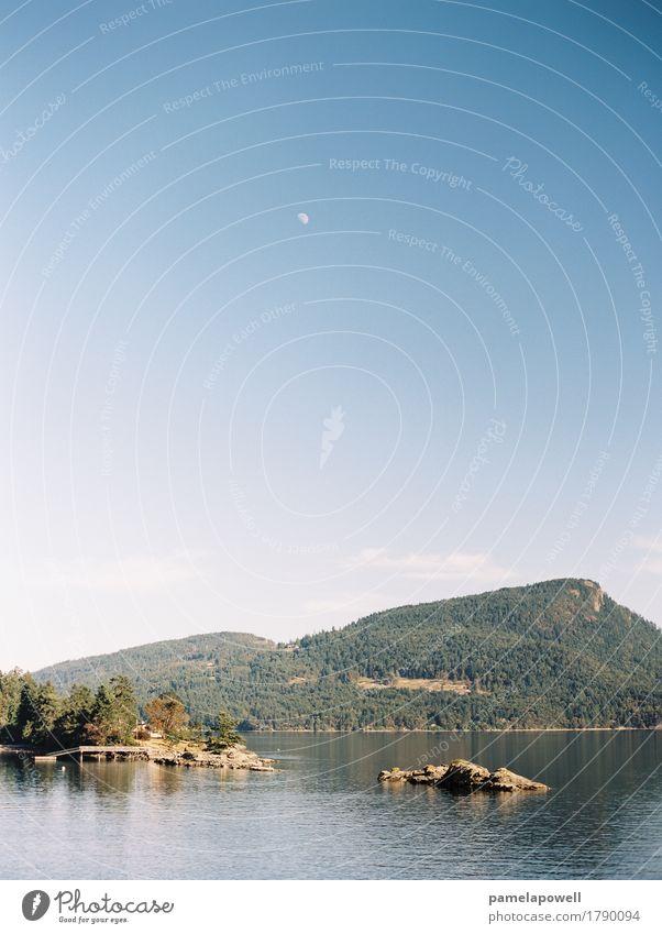 Himmel Natur Ferien & Urlaub & Reisen blau Sommer schön grün Wasser Landschaft Meer Erholung ruhig Umwelt Küste Tourismus Freiheit